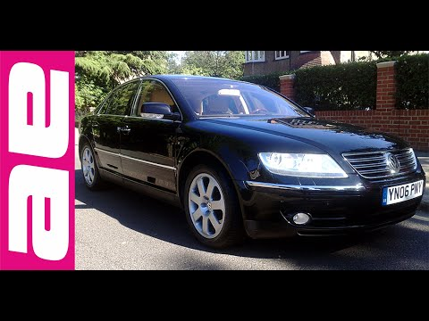 vw phaeton 6 0 w12 150 part 1. Black Bedroom Furniture Sets. Home Design Ideas