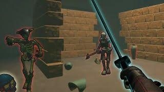 Juego de despedazar esqueletos en Realidad Virtual | Battle Talent