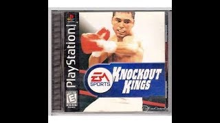 Knockout Kings PS1 Playstation 1 Longplay Full Game PSX 013