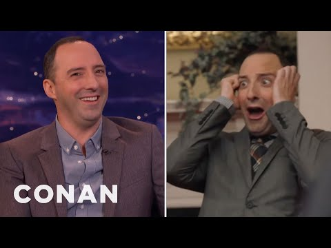 "Tony Hale On Playing A ""Bitchy Mime""  - CONAN on TBS"