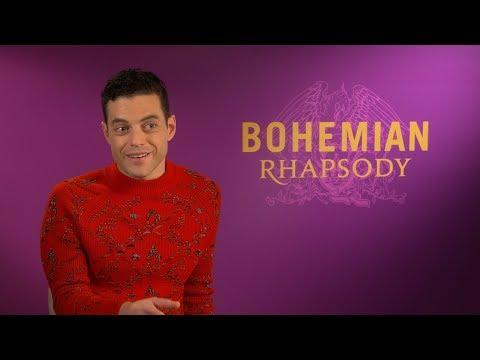 """I Thought They'd Throw Their Drinks"" - Rami Malek Talks Filming Bohemian Rhapsody"