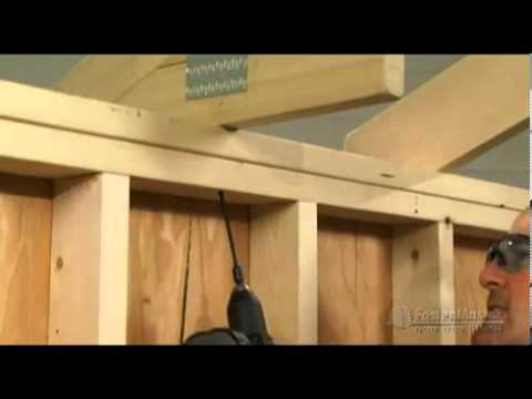 Fastenmaster Timberlok Attaching Rafter Or Truss To Top