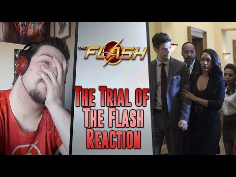 The Flash 4x10: The Trial of the Flash Reaction