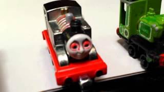 thomas the tank train, luke, evil timothy train, toy trains, part 1 by  Gavins Playground