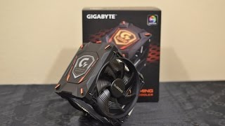 gIGABYTE XTC700 Gaming CPU Cooler (unboxing, installation, benchmark) EN