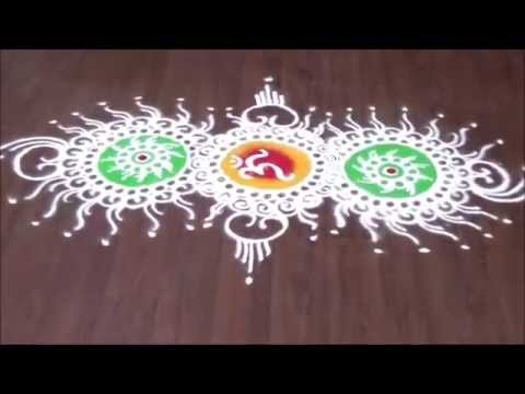 how to draw sanskar bharti rangoli