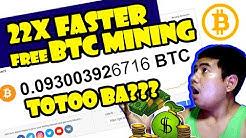 FREE BTC MINING -  22X FASTER || UPDATE 2020 LEGIT - Totoo ba? 22x???