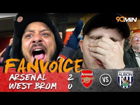 Lacazette scores double as Arsenal beat West Brom! | Arsenal 2-0 West Brom | 90min FanVoice