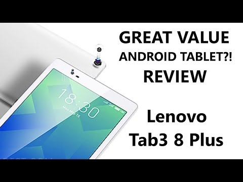 Lenovo Tab3 8 Plus Review - FINALLY an inexpensive yet GOOD Android Tablet.