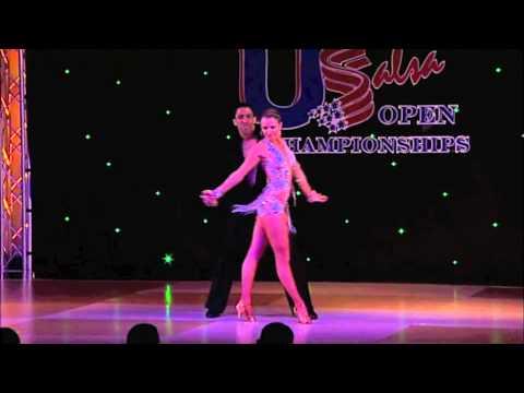 2011 US OPEN BACHATA CAMPEONES Alfred Pena & Aleksandra Ola Kozlowska