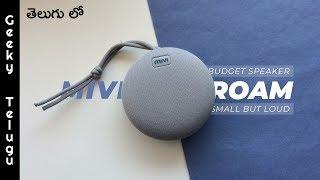 Mivi Roam Bluetooth Speaker Review  Best Budget Bluetooth Speaker  Telugu  Geeky Telugu