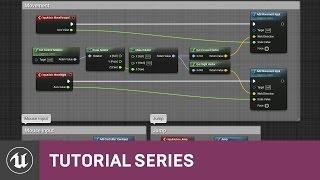 BP شخص 3 لعبة: حرف لوحة المفاتيح والماوس التحكم | 13 | v4.8 سلسلة دروس | محرك غير واقعي