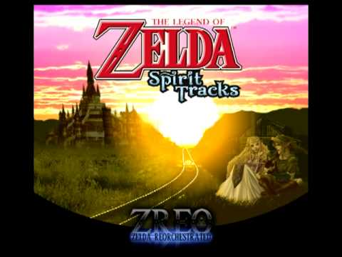 Spirit Tracks - Tower of Spirits Dungeon (Zelda Reorchestrated)