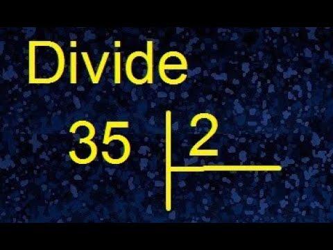 Download dividir 35 entre 2 , division con resultado decimal