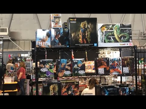 Sac ComicCon 2019 Toys ActionFigures Hunt Anime DBZ Banpresto SHFiguarts Funko MHA Naruto Dragonball
