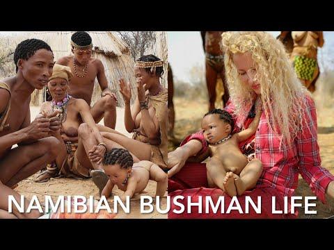 Life Skills of NAMIBIA BUSHMEN by Adeyto & Huawei P20 PRO @ Nankuse