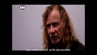 Interviews: Megadeth & Convixion (TV War 19/9/16)