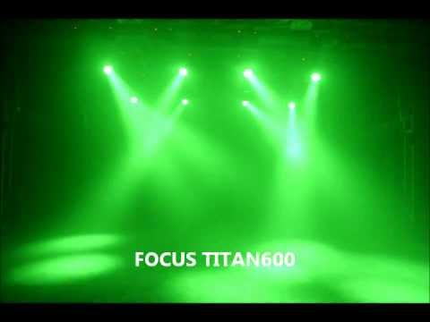 FOCUS TITAN600 LED WASH MOVINGHEAD