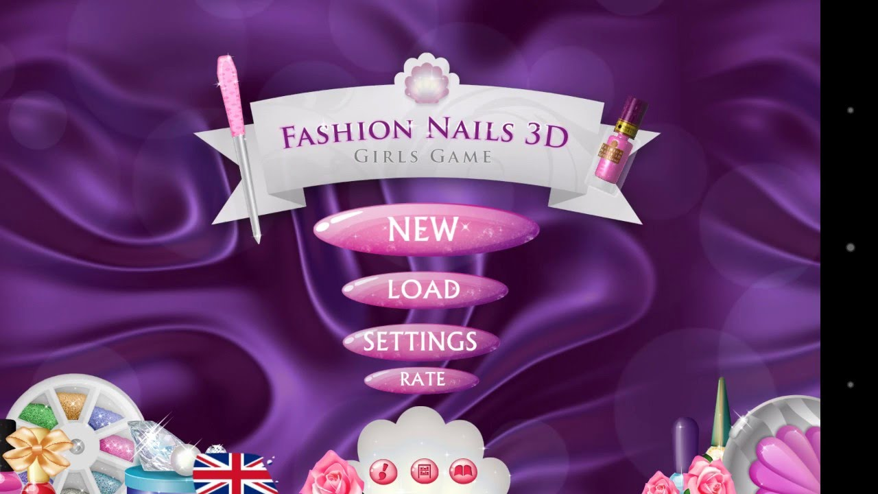 Fashion nails 3D!!!? - YouTube