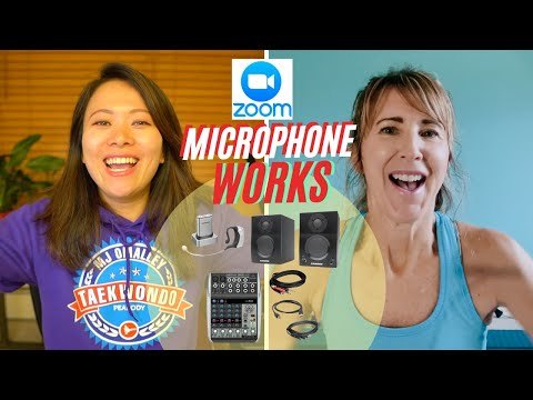 How To Use Zoom With Music And Microphone (updated Solution With A Mixer) #zoom #music #microphone