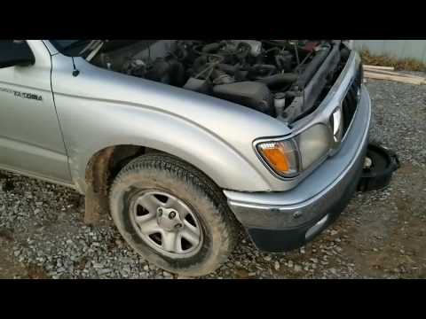 How to change the oil in a 2002 Toyota Tacoma