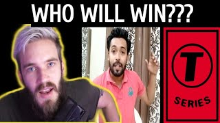 T Series Vs PewDiePie - Who will win   Sorry PewDiePie  STOP Pewdipie  Bitch Lasagna