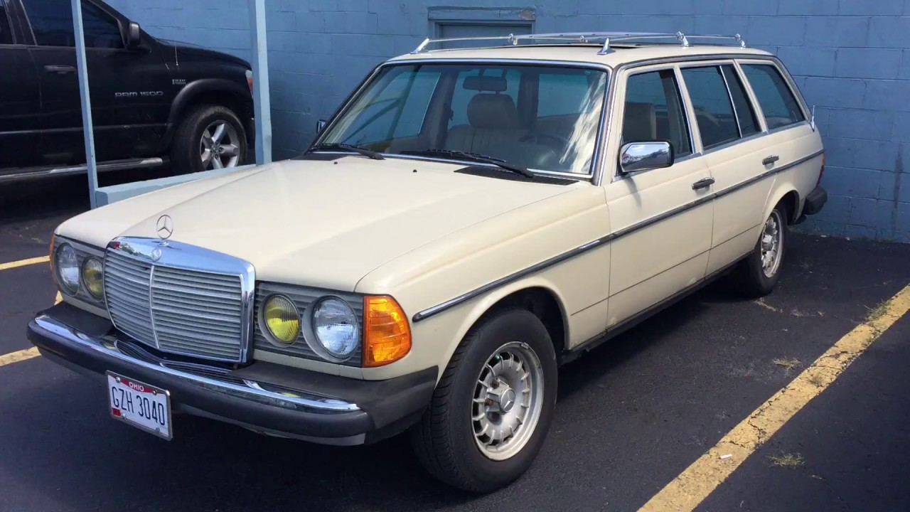 Mercedes 300 TD Turbo Diesel S123 Estate Station Wagon