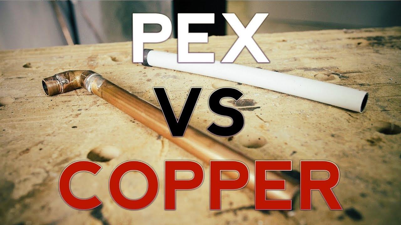 Plumbing basics - Pex vs Copper plumbing, the sharkbite