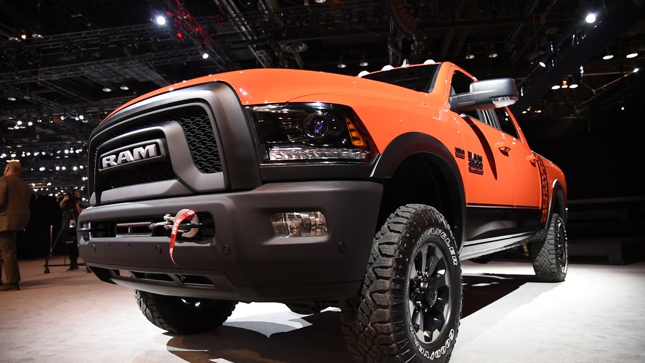 2016 Ram 2500 >> 2017 Ram Power Wagon - 2016 Chicago Auto Show - YouTube
