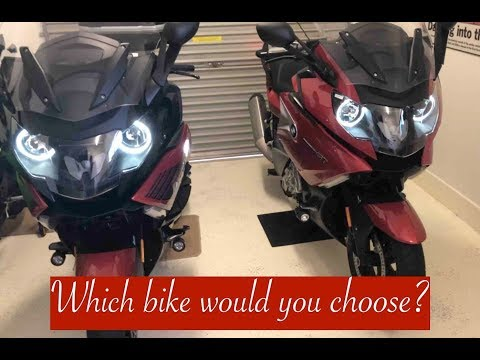 """Review 2015 & 2018 BMW K1600 GT, """"Which model would you choose?"""""""