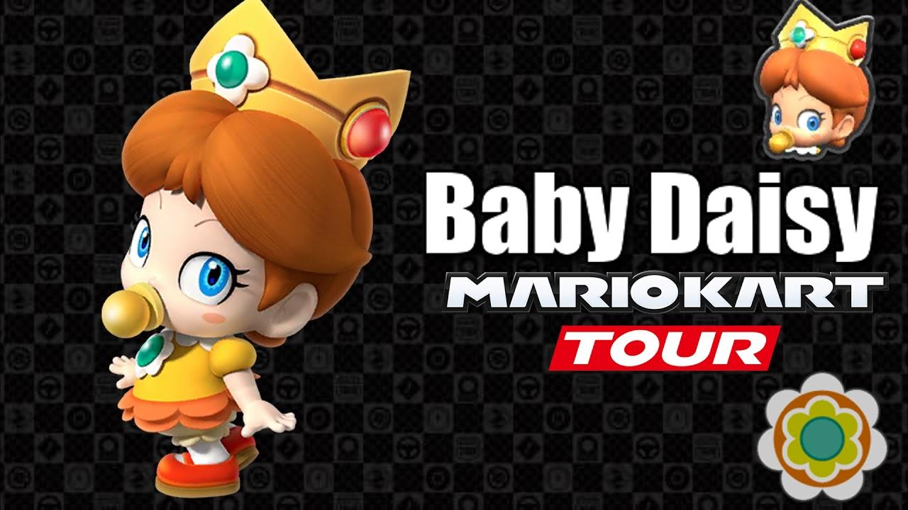 Mario Kart Tour Baby Daisy S Voice Lines Youtube