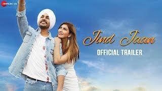 Jind Jaan - Official Trailer | Rajvir Jawanda, Sara Sharmaa, Upasana Singh, Jaswinder Bhalla
