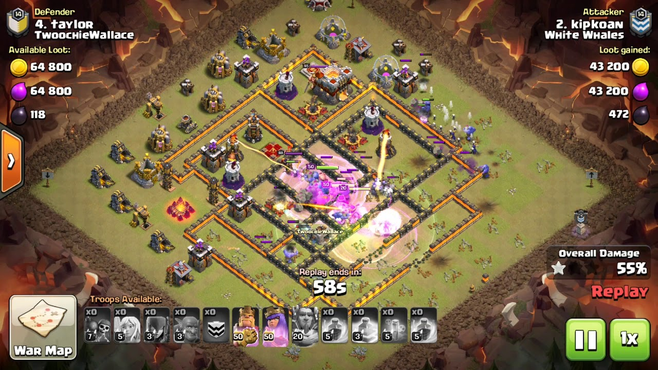 Clash of Clans TH11 GoWiBo 3 STAR ATTACK