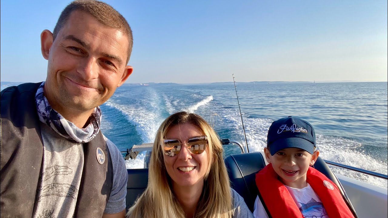 Fishlocker Family day out on the Boat - Family Fishing in Summer