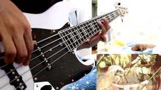 【チェインクロニクル 〜ヘクセイタスの閃〜 ED】True Destiny bass cover【東山奈央】