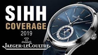 SIHH 2019: Jaeger-LeCoultre MASTER ULTRA THIN Blue Enamel Series