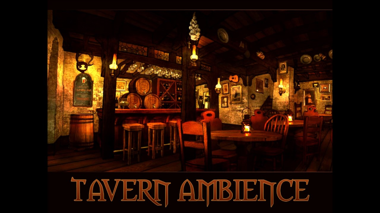How to draw a chair youtube - Fantasy Tavern Atmospheric Audio Ambience Youtube