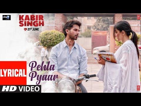 lyrical:-pehla-pyaar-|-kabir-singh-|-shahid-kapoor,-kiara-advani-|-armaan-malik-|-vishal-mishra