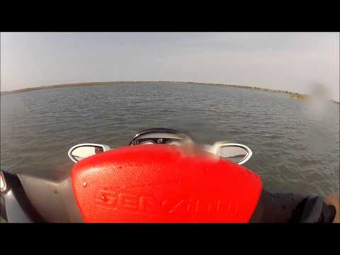 2008 Seadoo RXT 215 top speed GPS June 18 2012 GoPro HD