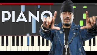 french montana unforgettable swae lee piano midi tutorial sheet partitura cover app karaoke