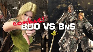 Black Desert vs Blade and Soul • Which Does Action Combat Better?