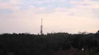 横浜市磯子区峰町 円海山山頂付近の鉄塔