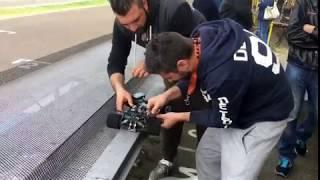 Change Battery Serpent Viper 977e In The 1/8 Italy Race. Ferrara G.A.E Track