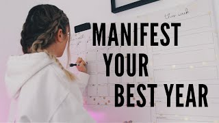 how to manifest your dream year ✨2021 ✨