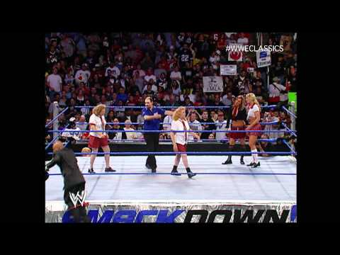 Schoolgirl Match on SmackDown - September 23, 2004