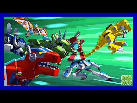 Transformers Rescue Bots: Disaster Dash - Hero Run - Full Episode - Best App For Kids