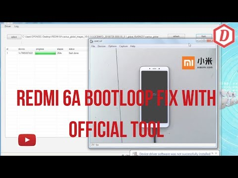 redmi-6a-bootloop-flasing-stock-rom-global-via-fastboot(bootloader-unlocked)