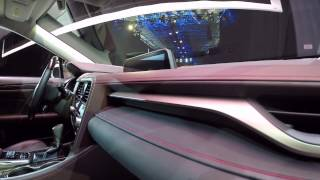Lexus RX 2016 // Автосалон в Нью-Йорке // АвтоВести Online