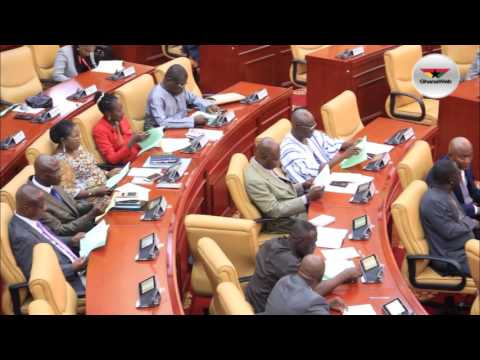 Parliament discusses Mahama Ayariga's bribery allegation