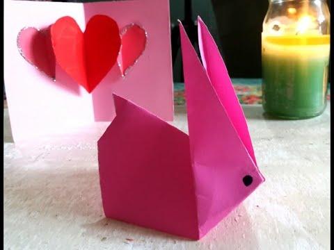 Origami Paper Rabbit| DIY Rabbit | Paper Animal Craft